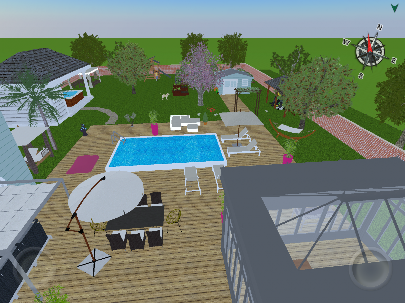 Home design 3d outdoor garden est disponible for House outside garden design